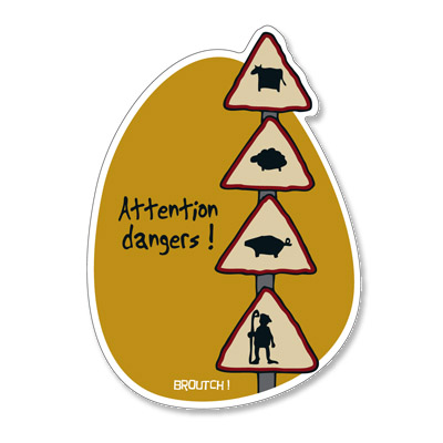 Attention dangers