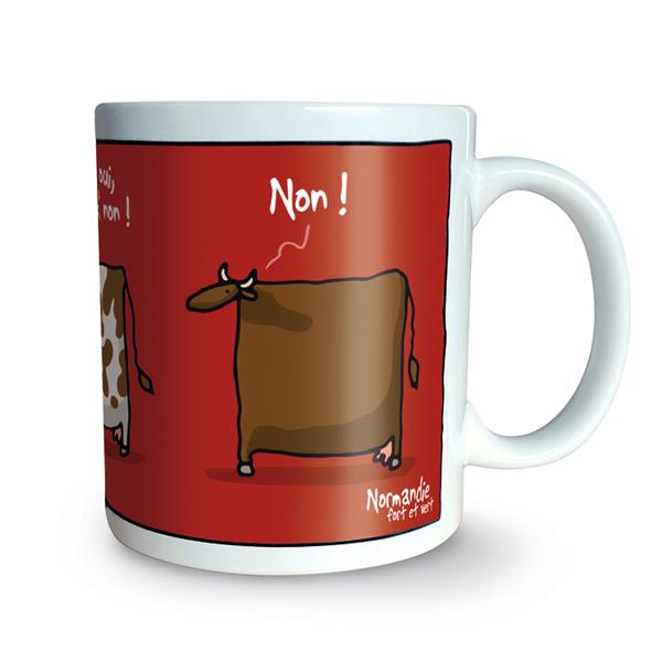 Heula oui non mug for Oui non minimaliste